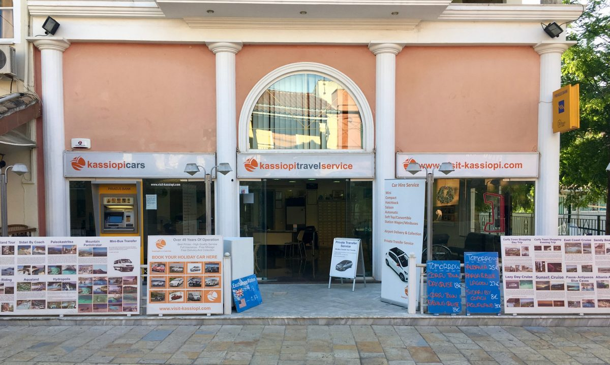 Kassiopi Travel Service Office